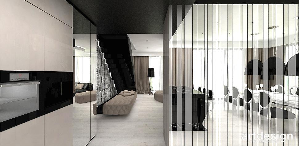 mieszkanie nowoczesne projekt