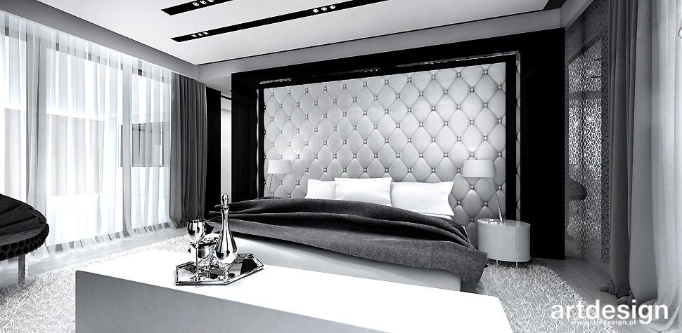 architektura wnętrz dom sypialnia