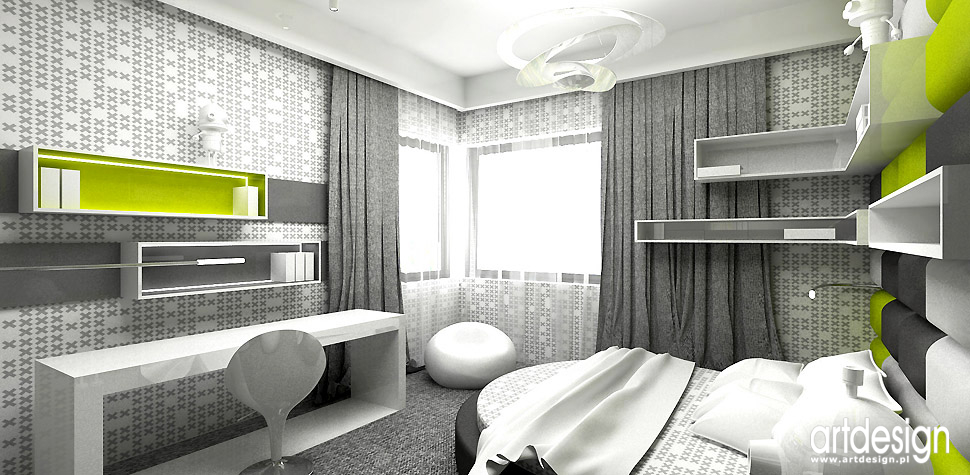 pokój dla dziecka wnętrza projekty