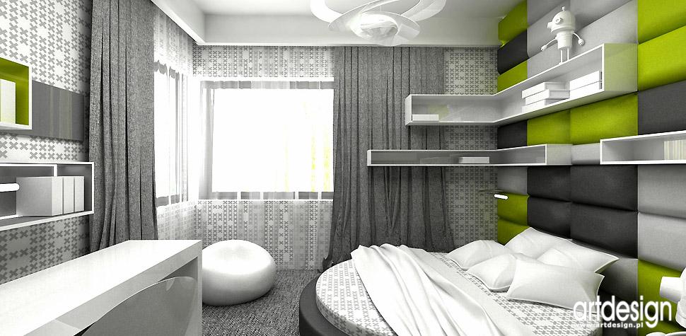 projektowanie wnętrz pokoje dziecięce