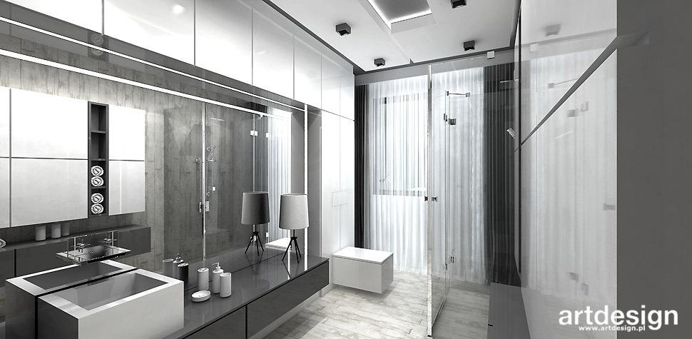 łazienka z prysznicem wnętrza