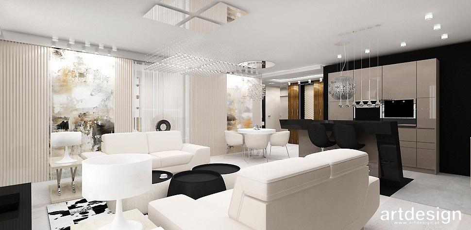 nowoczesne wnetrze apartament