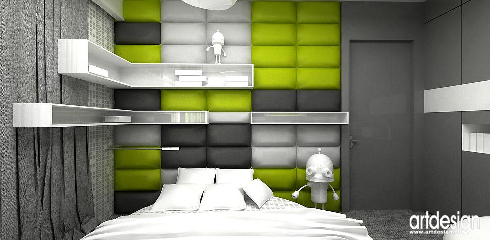 architektura wnętrz sypialnia dziecka