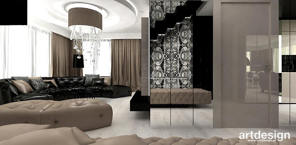 projekt wnętrz salon mieszkanie