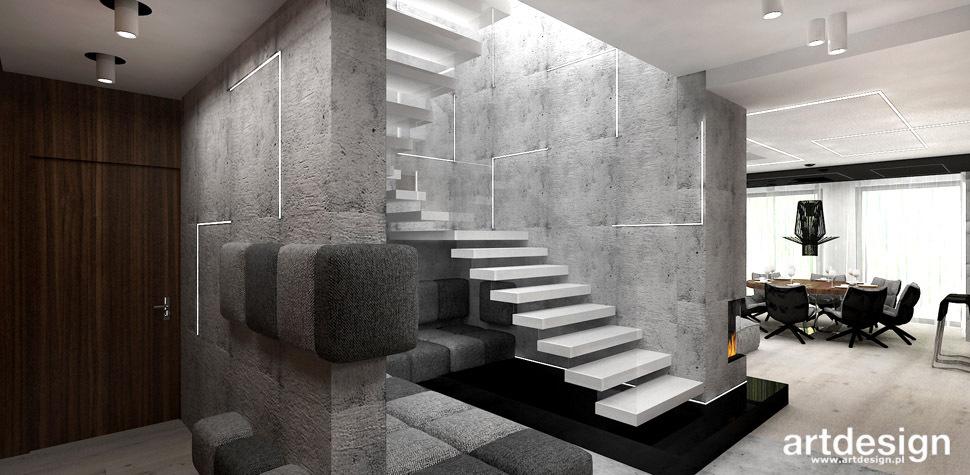 schody wspornikowe realizacje