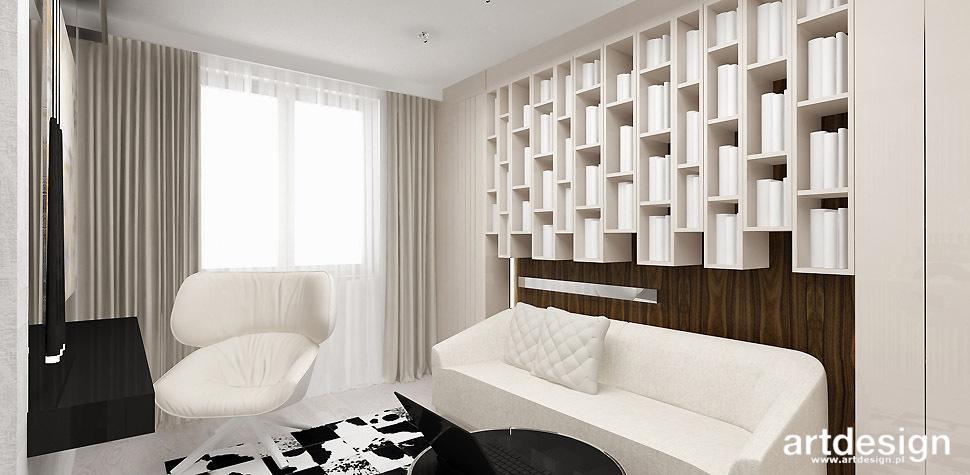 projektowanie wnetrz pokoj gabinet