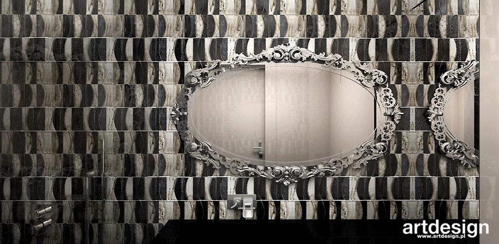 designerska łazienka projekty wnętrz