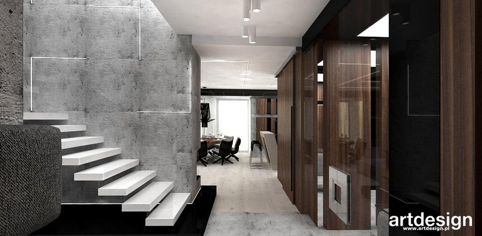 architektura wnetrz korytarz