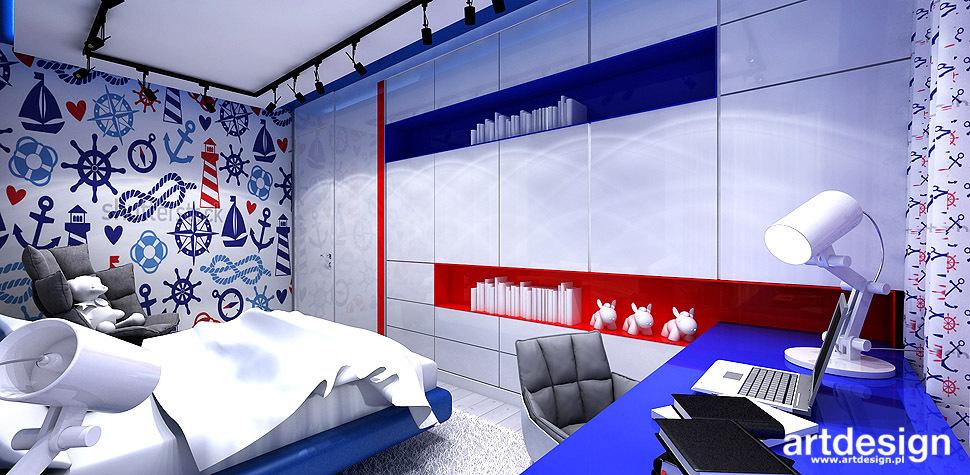 projektowanie pokój dla chłopca