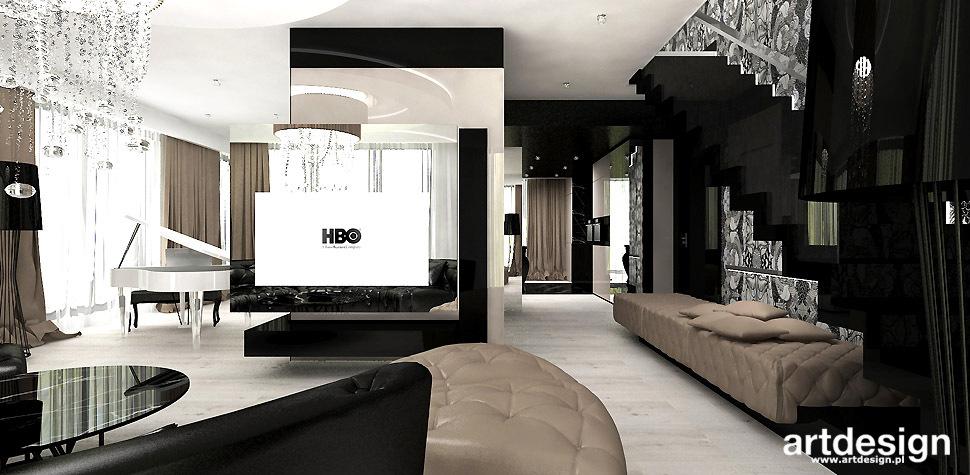 tapeta dekoracyjna w salonie