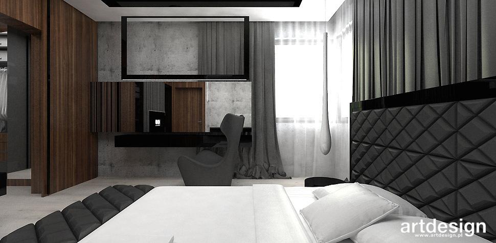 sypialnia styl nowoczesny