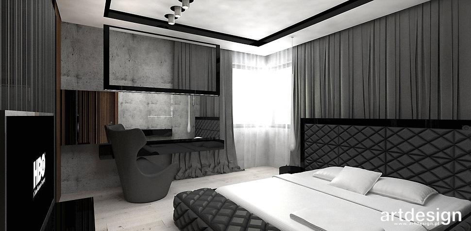 projekty sypialnia krakow