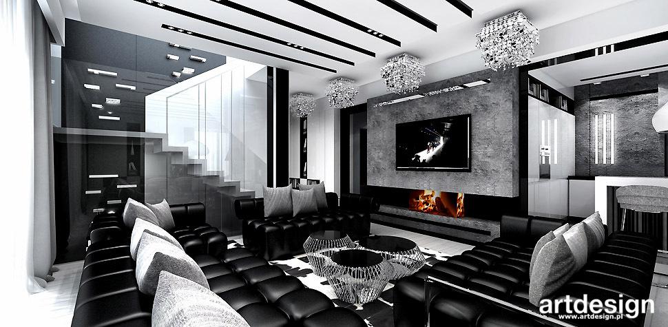 nowoczesny salon aranżacje