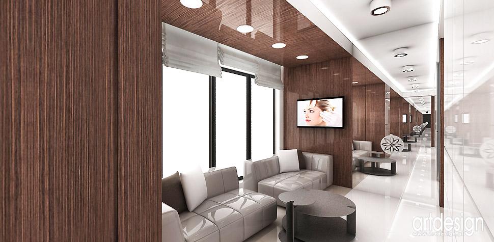 architektura wnętrz gabinety stomatologiczne
