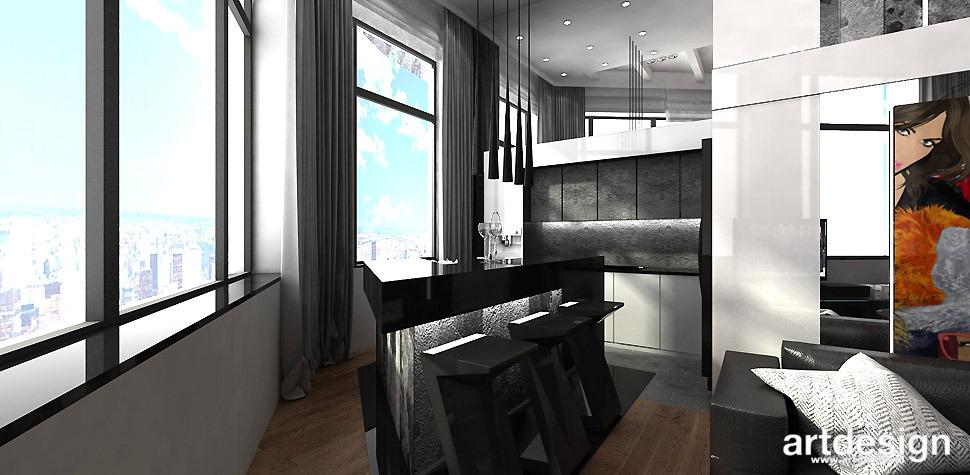 VISIBLY ASSURED  Apartament  Projektowanie wnętrz ARTDESIGN