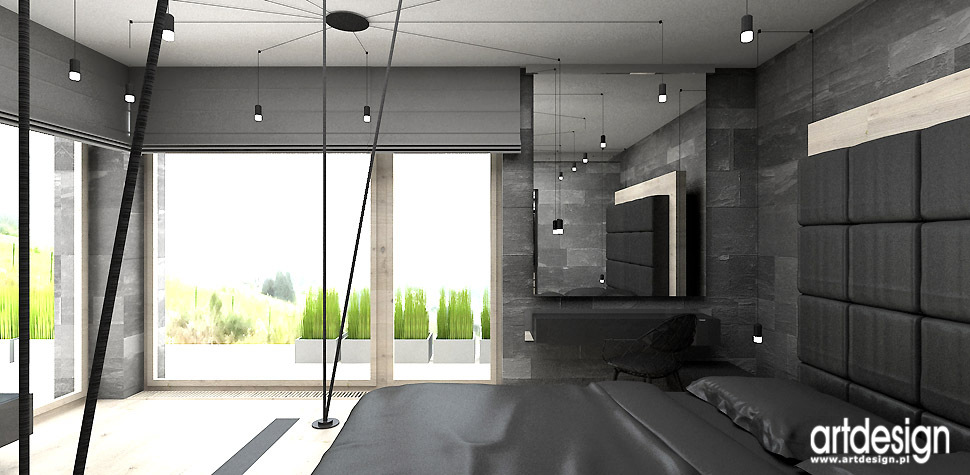 HOUSE OF THE RISING SUN  II  Dom  Projektowanie wnętrz   -> Kuchnia Czarno Siwa