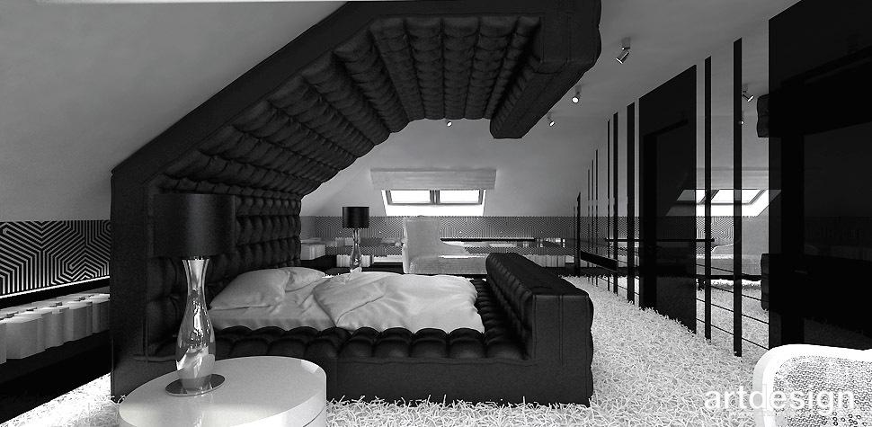 sypialnia ekskluzywne wnętrze