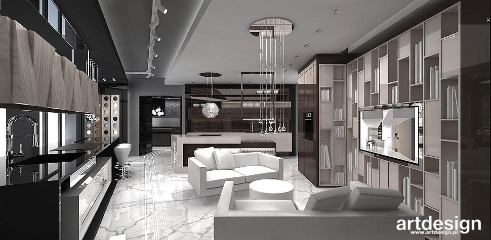 projektowanie wnętrz showroom