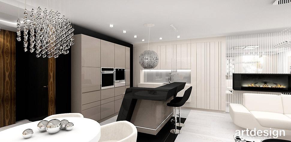 kuchnia otwarta apartament