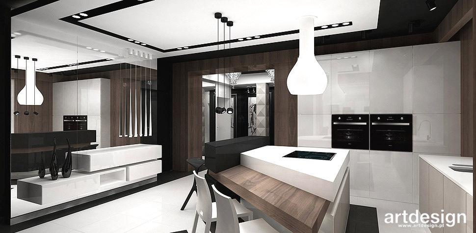 EXCLUSIVE INTERVIEW  Wnętrza domu  Projektowanie wnętrz   -> Kuchnia Fornir Lakier