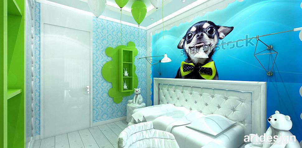 projektowanie wnetrz pokoj dziecka