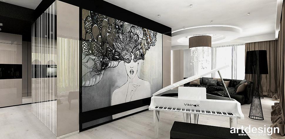 fortepian w domu apartamencie