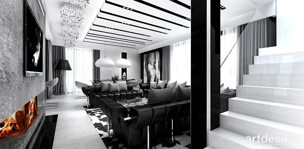 białe dywanowe schody