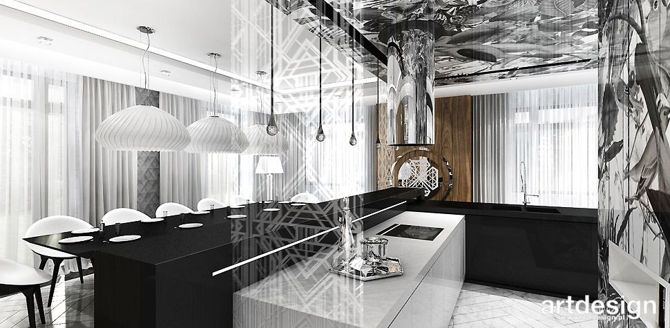 kuchnia wyrafinowany design