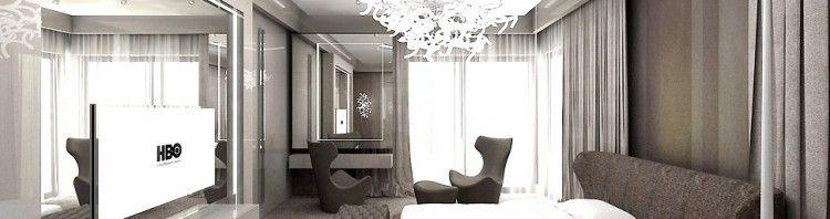 luksusowy projekt sypialnia