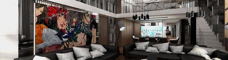 wnętrze apartament antresola