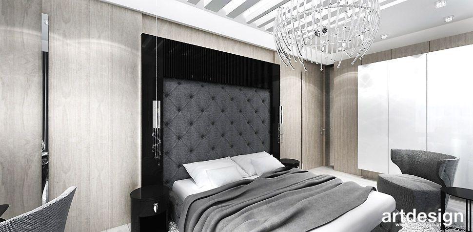 łóżko tapicerowany zagłówek