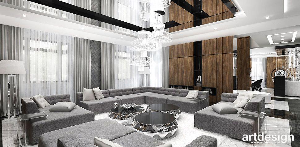 elegancki salon design