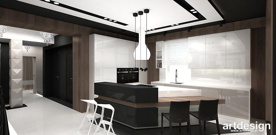 kuchnia czarno biała