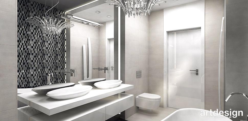 mozaika w łazience wizualizacja