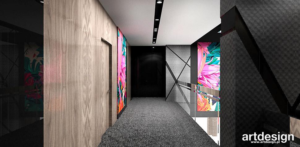 korytarz wnętrze aranżacja