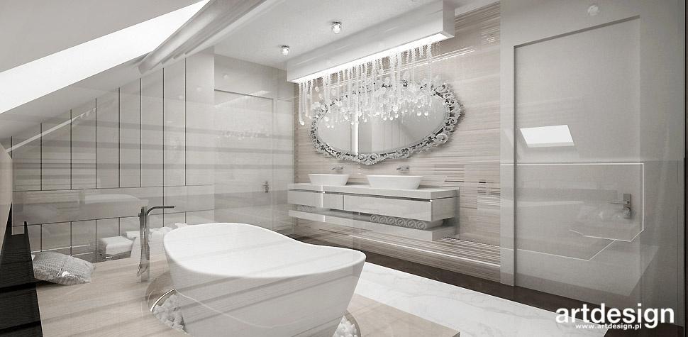 luksusowe łazienki wnętrza