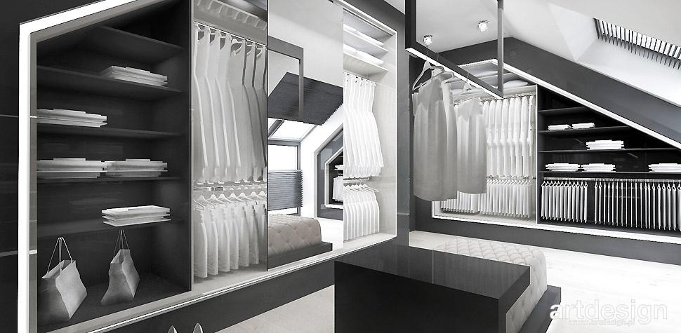funkcjonalna garderoba wnętrza