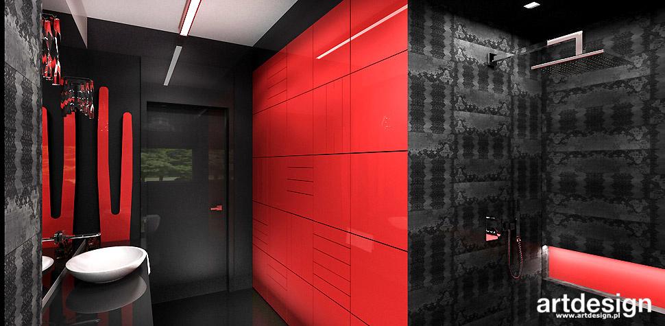 nowoczesna łazienka odważny design