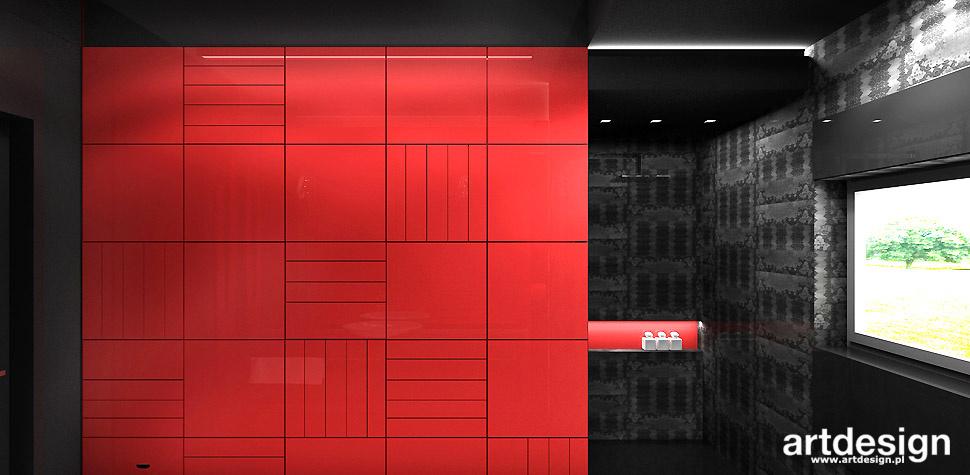 trendy wnętrzarskie kolor czerwony
