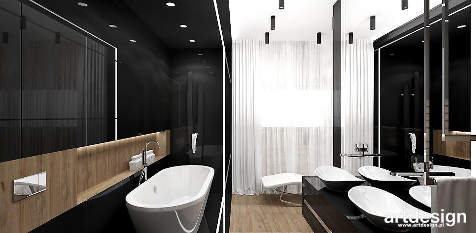 projektowanie łazienek styl nowoczesny