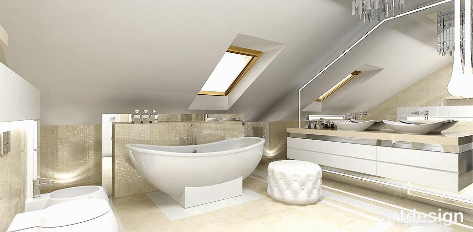 łazienka kremowa aranżacja