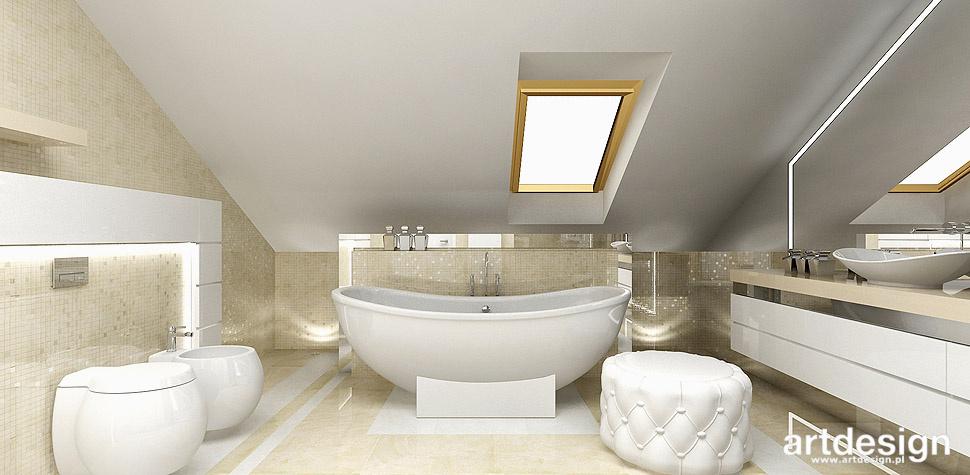 projekt łazienki mozaika