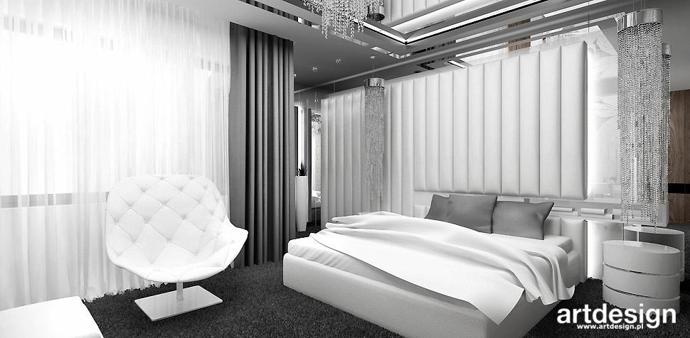projekt luksusowej sypialni