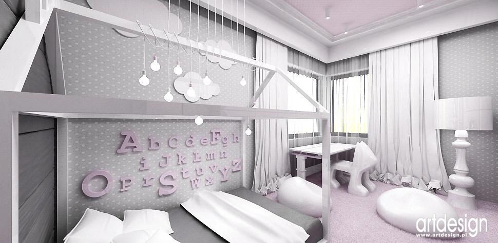 architektura wnętrz pokój dziewczynka