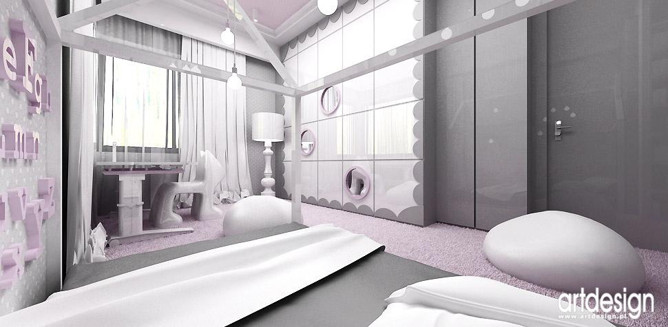 projektowanie wnętrz pokój córki