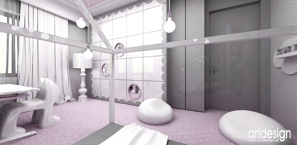 pastelowe wnętrze pokój dziecięcy