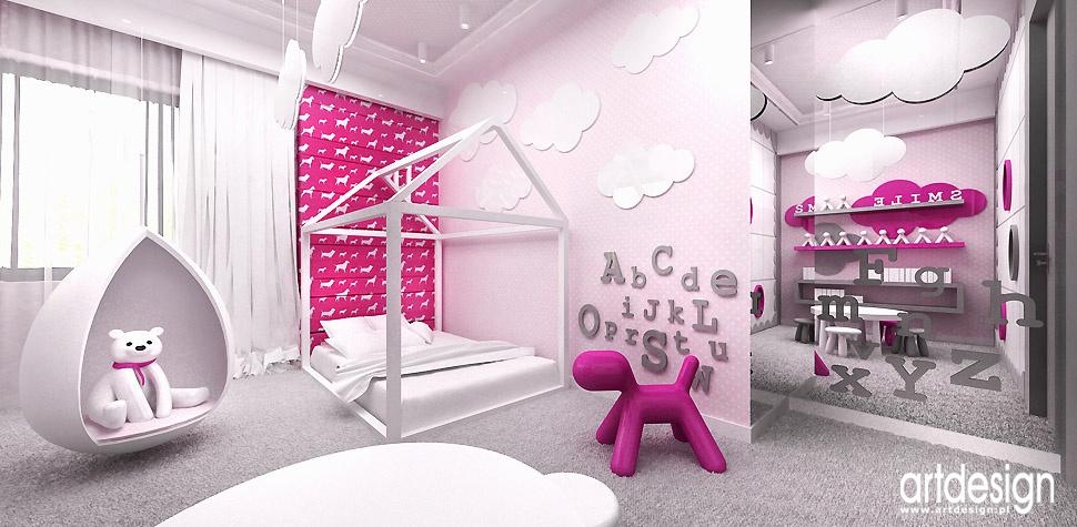 pokój córki aranżacje wnętrz design