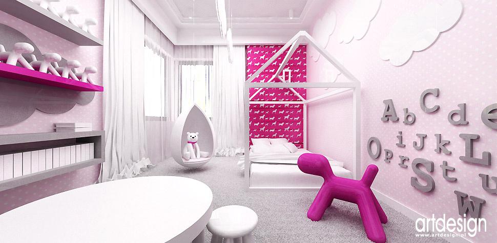 pomysłowe aranżacje pokoju dziecka projektanci wnętrz