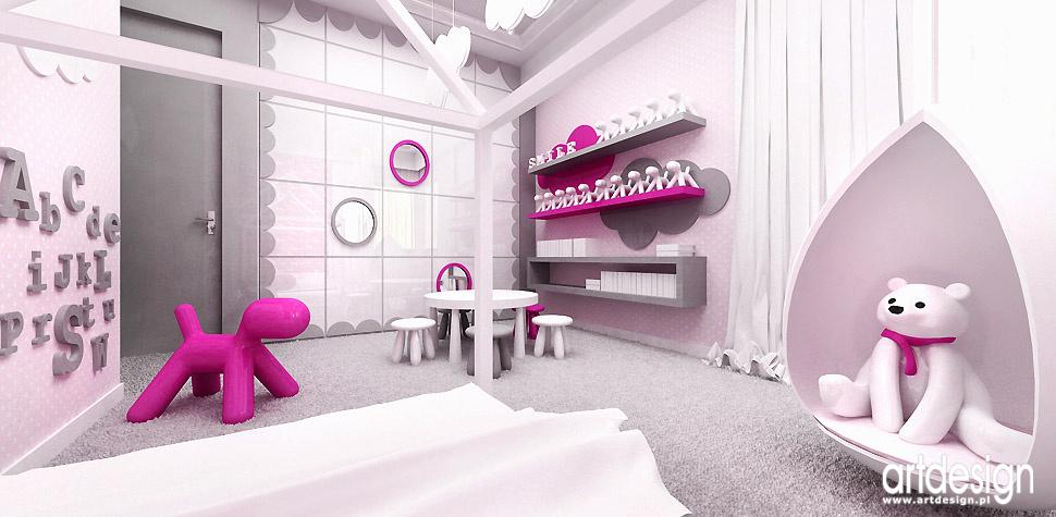 najlepsze projekty bawialnia pokój dziecka