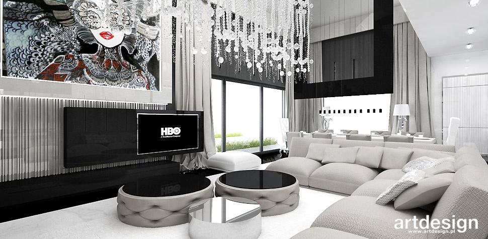 projektowanie wnętrz domów